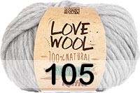 Пряжа KATIA LOVE WOOL