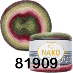 Пряжа NAKO ANGORA LUKS COLOR